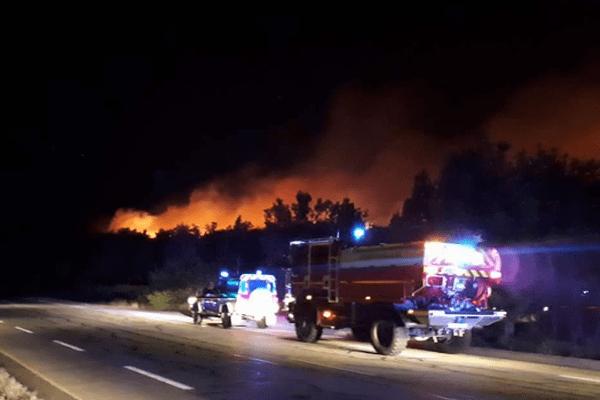 Incendie à Seillons