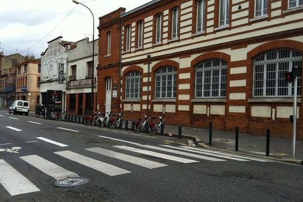 L'accident s'est produit à ce passage protégé du Faubourg Bonnefoy à Toulouse.