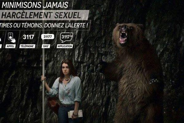 Férus attaque la campagne contre la harcèlement sexuel affichée par la RATP