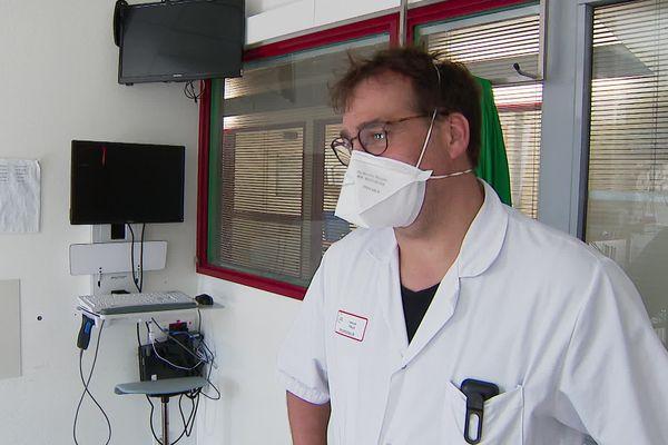 Le docteur Arnaud Thille, chef du service réanimation du CHU de Poitiers.