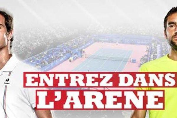 """l'Open """"Sud de France"""" se déroulera à l'Aréna de Montpellier du 5 au 12 février prochain"""