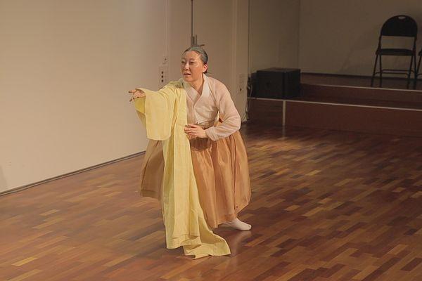 La danseuse coréenne Jae-hyun An