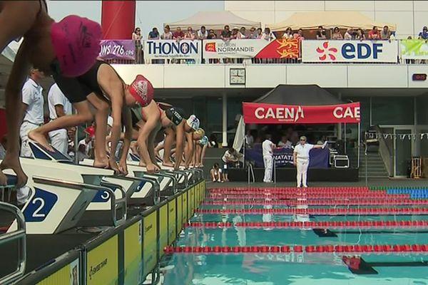Plus de 170 clubs, près de 400 nageurs venus de l'hexagone et de l'outre mer sont réunis cette semaine à Caen