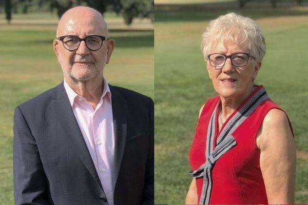 Jean-Pierre Cubertafon et Claudine Faure