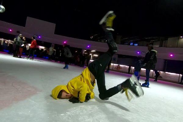Nouvelle danse sur la glace