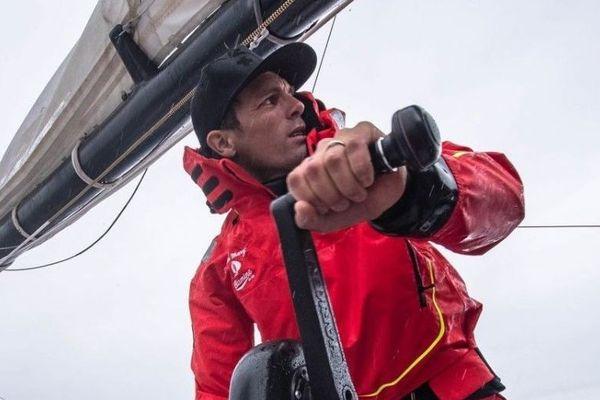 Aurélien Ducroz, double champion du monde de free ride et navigateur