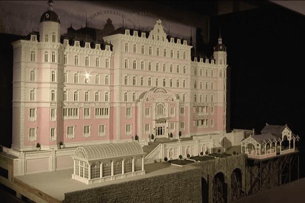 La maquette du Grand Budapest Hotel