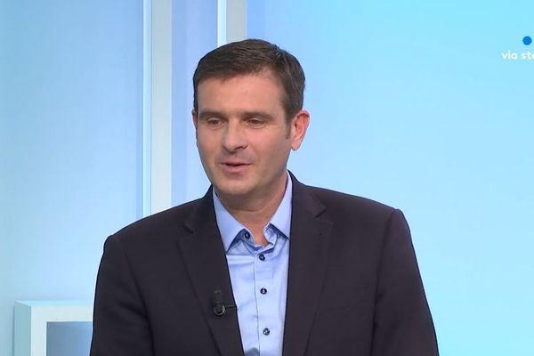 Jean-Martin Mondoloni, président du groupe Per l'Avvene.