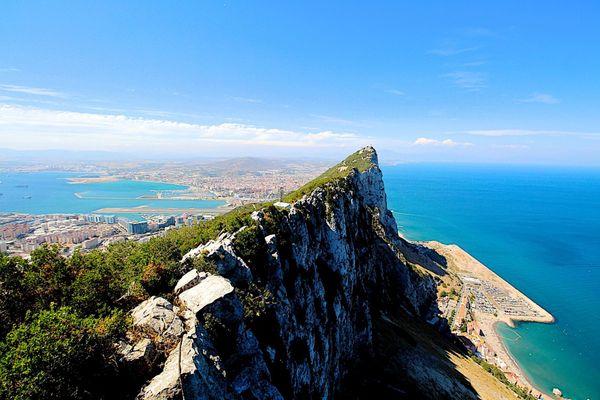 Gibraltar de nos jours.