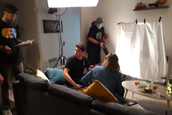 Le tournage a eu lieu en octobre 2020.