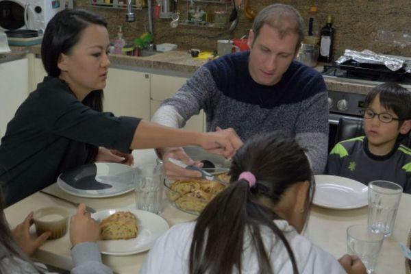Karim et sa famille franco-coréenne