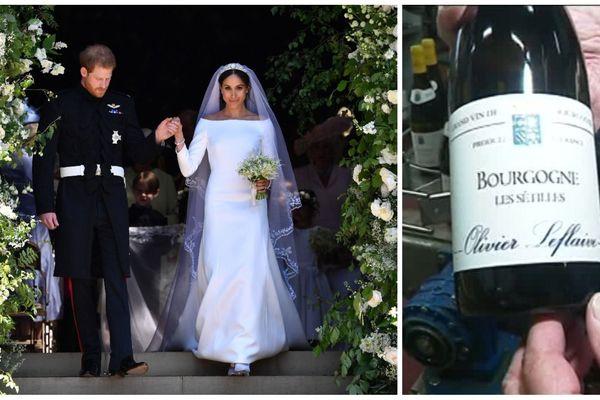La cuvée Les Sétilles se vend très bien outre-Manche depuis le mariage d'Harry et Meghan.