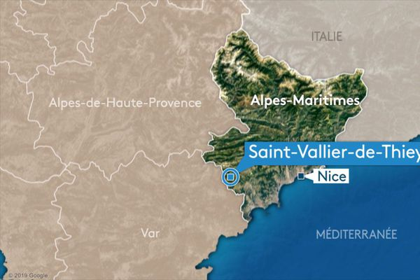 L'accident est survenu à quelques kilomètres de Saint-Vallier-de-Thiey