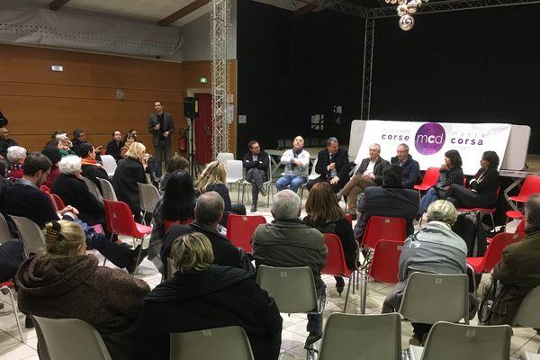 04/02/2017 - Assemblée générale du MCD, Mouvement Corse Démocrate.