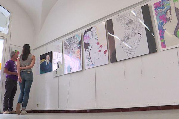 L'exposition se poursuit jusqu'au 2 octobre à l'espace André-Chamson, à Alès