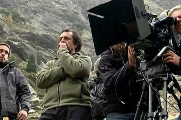 Sur le tournage du film de Nicolas Vannier (octobre 2012)