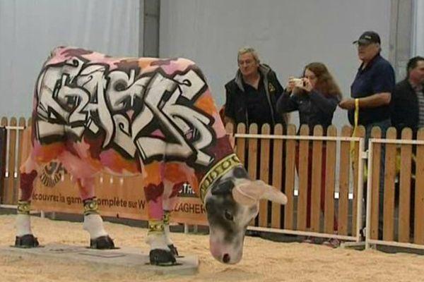 L'édition 2015 du Sommet de l'Elevage en Auvergne se déroule sans vaches...ou presque !