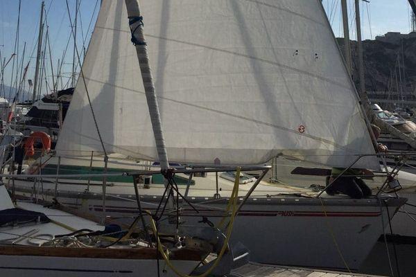 Bateau de Sandrine au port du Frioul