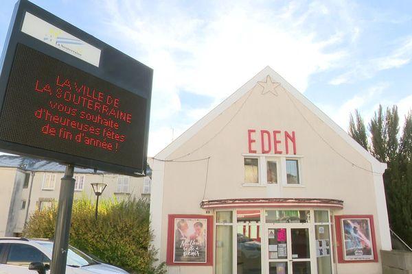 """Le cinéma """"Eden"""" de La souterraine sauvé de la fermeture par la mairie"""