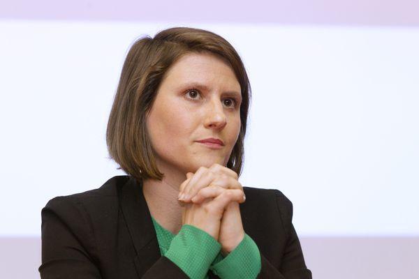 Alenka Doulain, le 29 janvier 2020, lorsqu'elle était candidate pour les municipales à Montpellier.