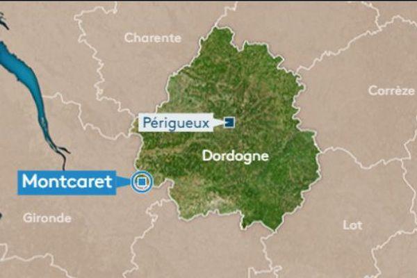 L'accident s'est produit en début de matinée à Montcaret, en Dordogne.