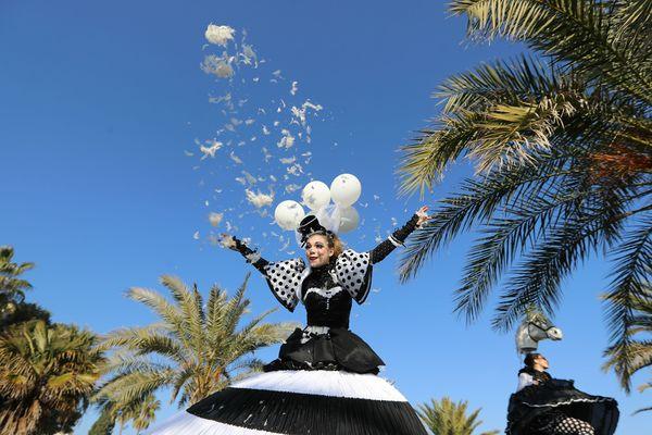 Le carnaval de Nice a bénéficié de conditions météo exceptionnelles.