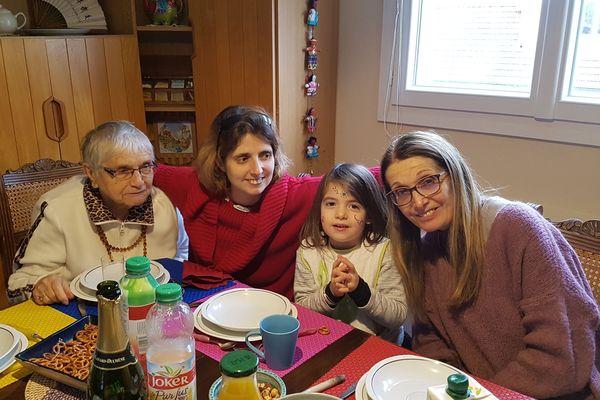 Paulette, Estelle, Elina et Renata