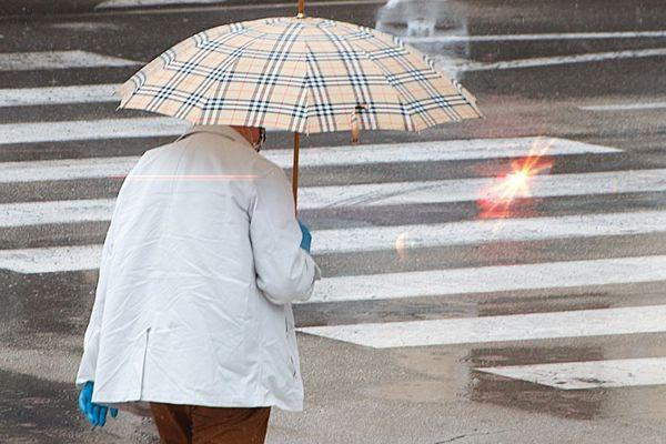 Jusqu'au vendredi 12 juin 16 heures, d'importants cumuls de pluie sont attendus en Haute-Loire et dans le Cantal.