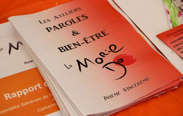 Les ateliers Paroles & Bien-être sont l'une des nombreuses initiatives développées par la Marie Do tout au long de l'année