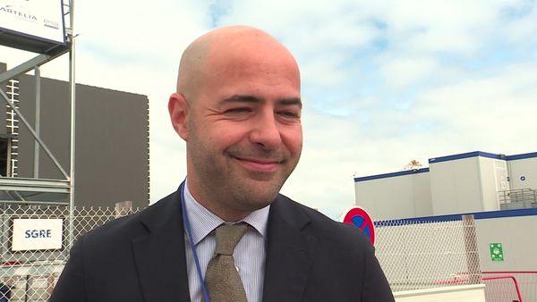 Filippo Cimitan, président de Siemens- Gamesa France