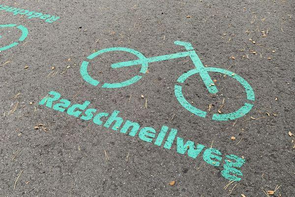 Radschnellweg, voie express pour vélos à Böblingen