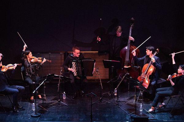 Félicien Brut et le Quatuor Hermès
