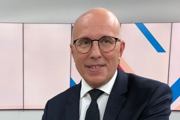 Eric Ciotti, député des Alpes-Maritimes