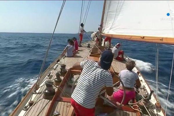 Pour sa 10e édition la Corsica-Classic s'est élancée de Bonifacio lundi 26 août.