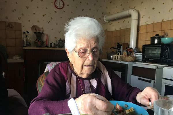 Alice Musseau, 107 ans, presque 108