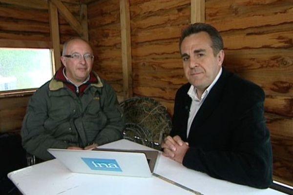 Philippe Boisneau, pêcheur de Loire avec Flavien Texier
