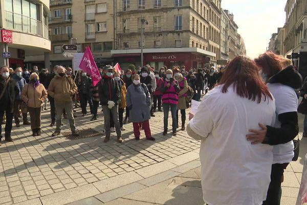 Rassemblement 8 mars, droit des femmes, Caen
