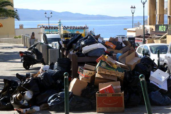 La Corse a atteint la limite de ses capacités de traitement dans un certain nombre de sites.