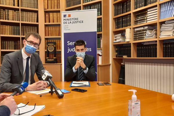 Loïc Abrial, procureur de la République de Montargis, a tenu une conférence de presse au sujet de la fusillade qui a coûté la vie à un homme le 17 mars