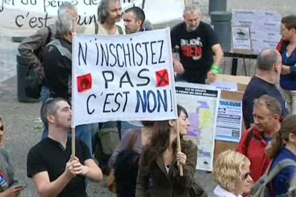 Près de 200 manifestants à toulouse