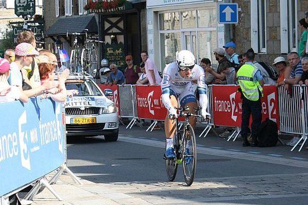 Archives : Tour de France 2013 à Avranches, épreuve du contre-la-montre