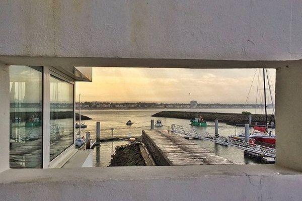 Port de Royan, vue depuis la Capitainerie