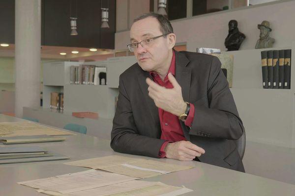 """Paul-André Rosental, auteur de """"Destins de l'eugénisme"""" aux éditions du Seuil."""
