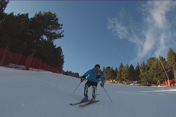 Jeremy Denat, le skieur de Font-Romeu, n'ira finalement pas aux Jeux olympiques d'hiver - février 2018