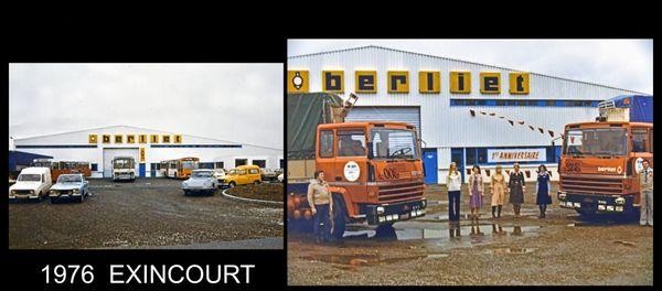En Franche-Comté, le groupe Bourlier a représenté la marque BERLIET dès les année 30 !