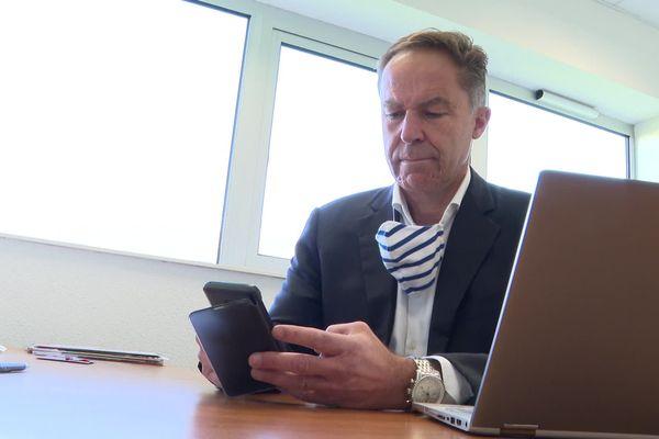 Jean-Philippe Tible, le créateur de Qui-Vive, une application qui permet aux victimes et témoins de prouver le harcèlement de rue