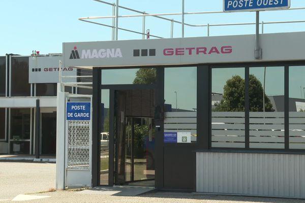 Le site Getrag à Blanquefort, les salariés sont inquiets d'une possible fermeture.