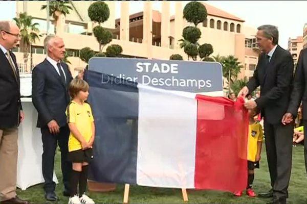 Didier Deschamps donne son nom au stade de Cap d'Ail