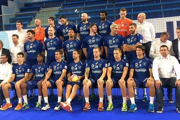 Montpellier - la photo officielle du MHB 2017-2018 - 11 septembre 2017.