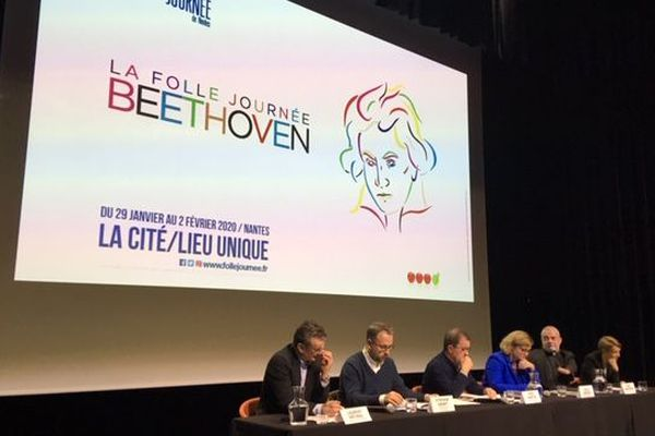 La conférence de presse de présentation de la Folle Journée 2020 consacrée à Beethoven